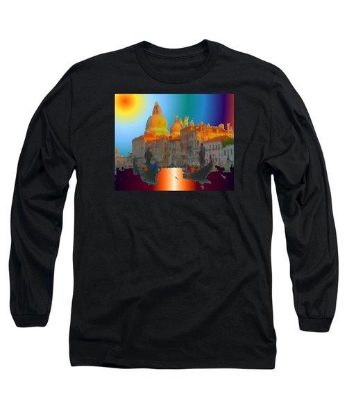 Italian Sunrise Long Sleeve T-Shirt