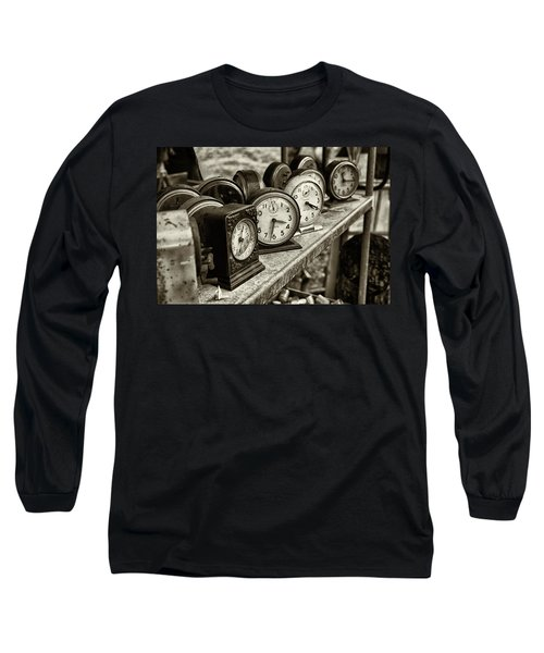 It's About Time Long Sleeve T-Shirt by John Hoey