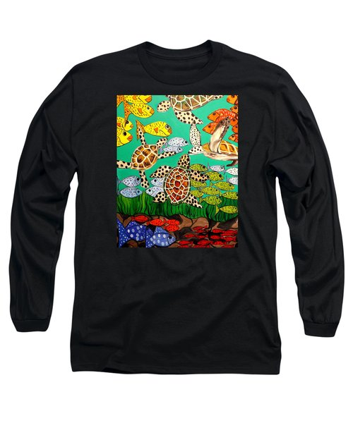 It's Turtle Time Long Sleeve T-Shirt