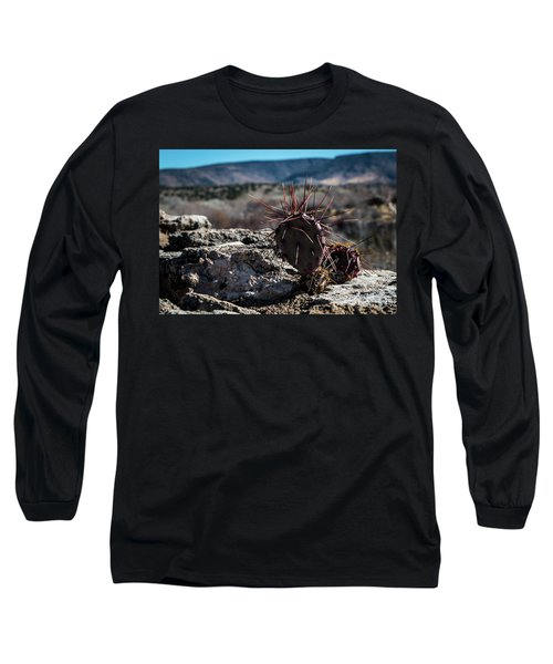 Itty Bitty Prickly Pear Cactus Long Sleeve T-Shirt