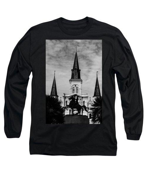Jackson Square - Monochrome Long Sleeve T-Shirt
