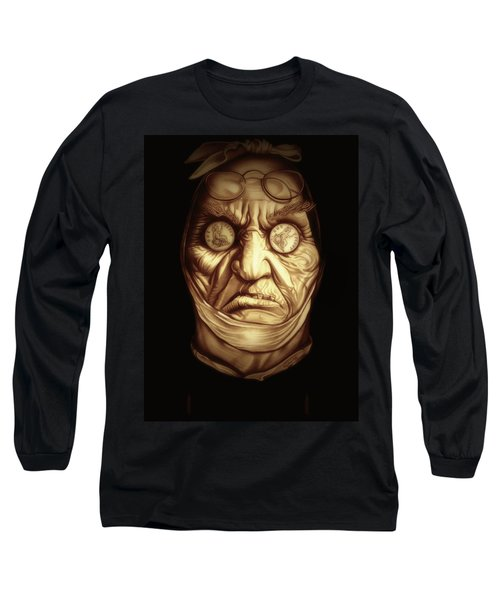 Jacob Marley Long Sleeve T-Shirt by Fred Larucci
