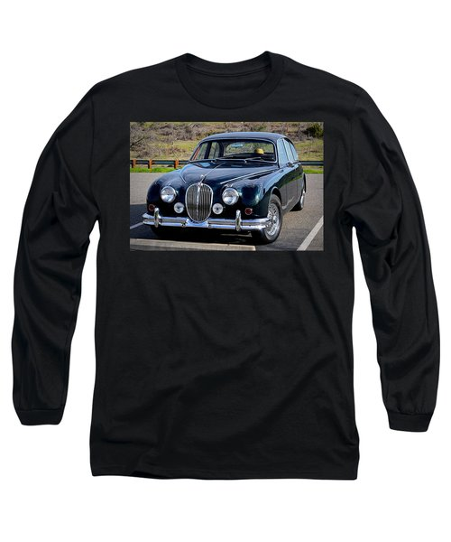 Long Sleeve T-Shirt featuring the photograph Jag by AJ Schibig
