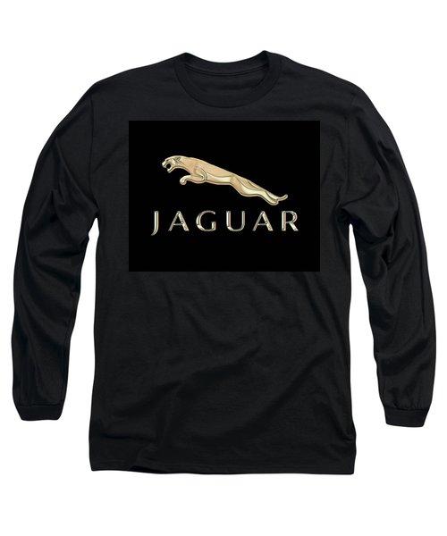 Jaguar Car Emblem Design Long Sleeve T-Shirt