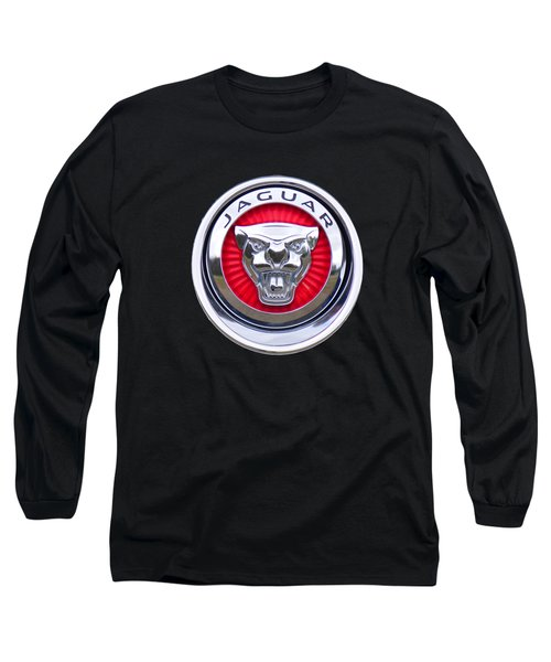 Jaguar Emblem Long Sleeve T-Shirt