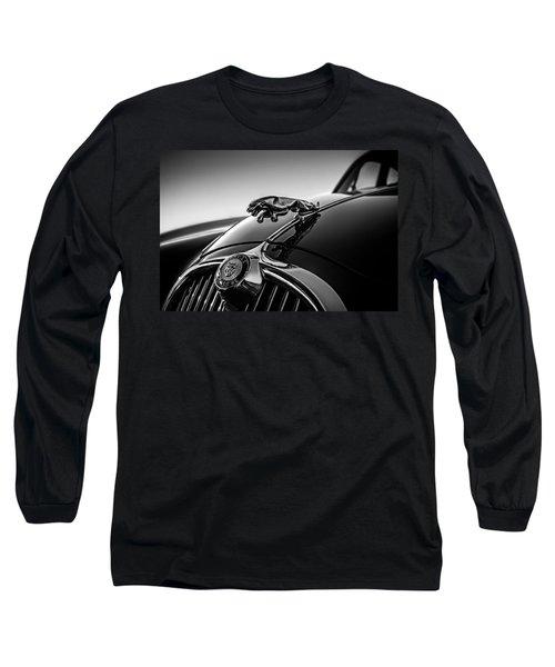 Jaguar Mascot Long Sleeve T-Shirt by Douglas Pittman