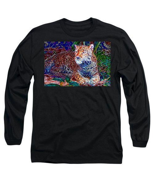 Jaguar Long Sleeve T-Shirt by Zedi
