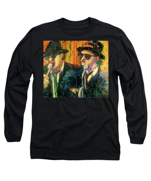 Jake And Elwood Long Sleeve T-Shirt