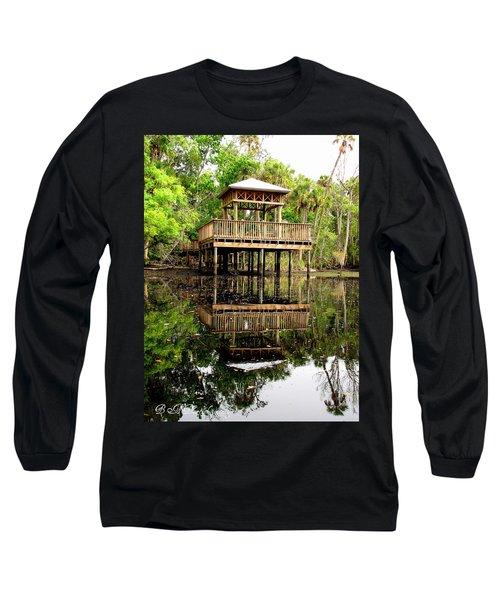 James E Grey Fishing Pier Long Sleeve T-Shirt