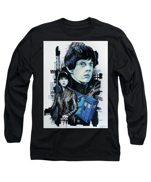 Jamie And Zoe Long Sleeve T-Shirt by Tom Carlton