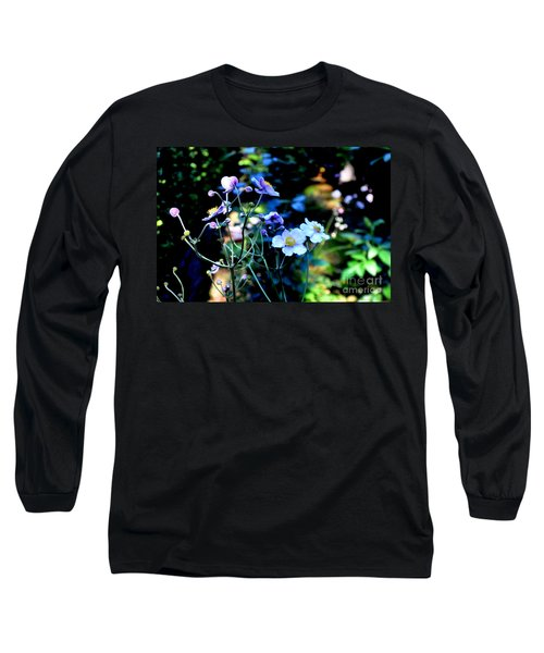 Japanese Anemone In The Afternoon Light Long Sleeve T-Shirt