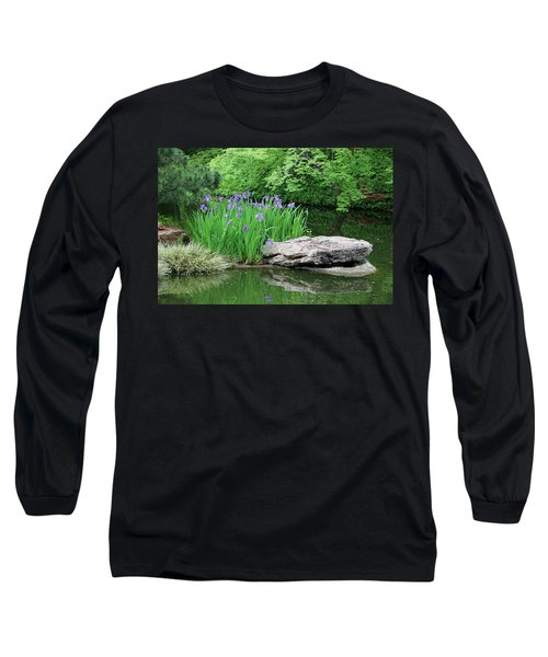 Japanese Gardens - Spring 02 Long Sleeve T-Shirt