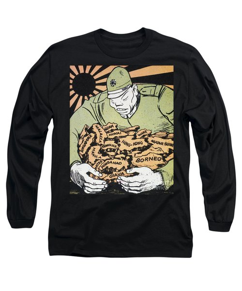Japanese Imperialism Long Sleeve T-Shirt by Granger
