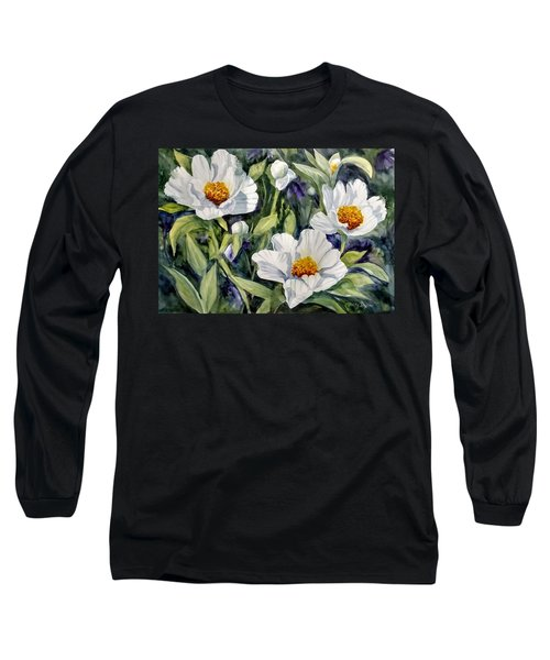 Japanese Peonies Long Sleeve T-Shirt