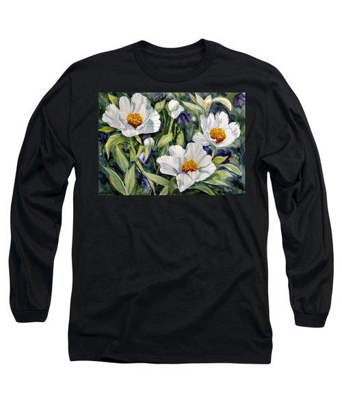Japanese Peonies Long Sleeve T-Shirt