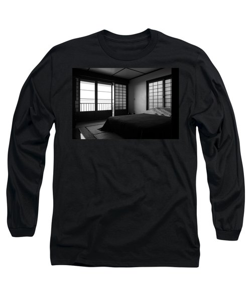 Japanese Style Room At Manago Hotel Long Sleeve T-Shirt