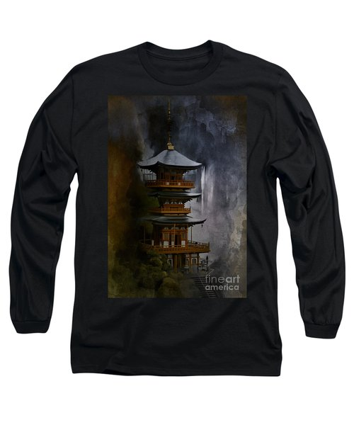 Japanese Temple. Long Sleeve T-Shirt