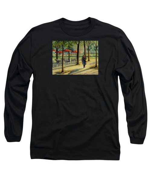 Jardin Des Tuileries In October Long Sleeve T-Shirt by Jill Musser