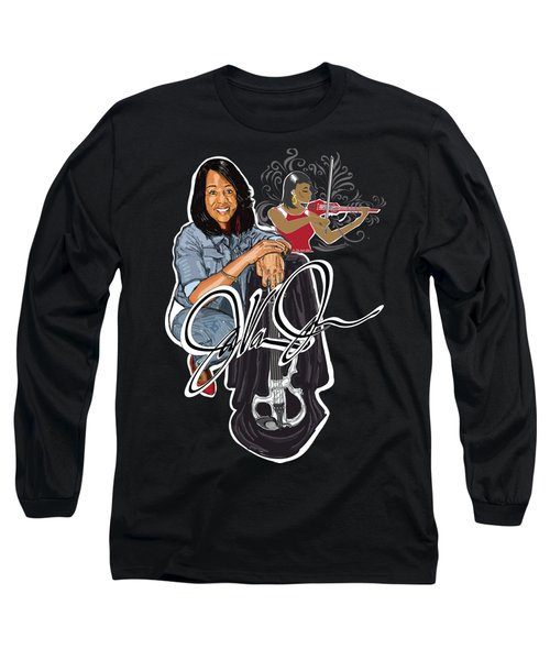 Javonne The Violinist Long Sleeve T-Shirt
