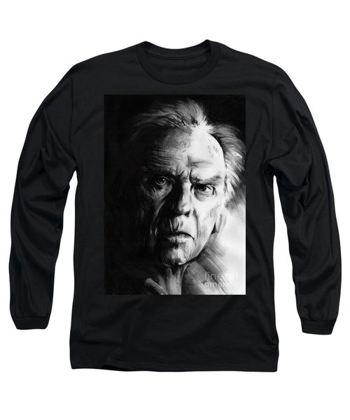 Jean-louis Trintignant Long Sleeve T-Shirt