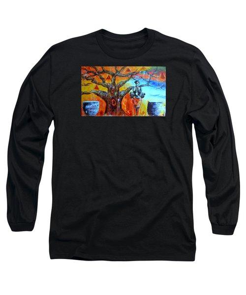 Jeanilia Long Sleeve T-Shirt by Fania Simon