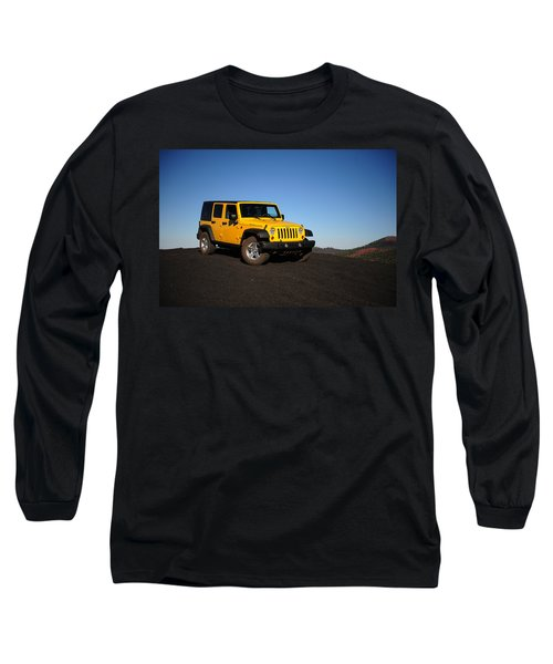 Jeep Rubicon In The Cinders Long Sleeve T-Shirt
