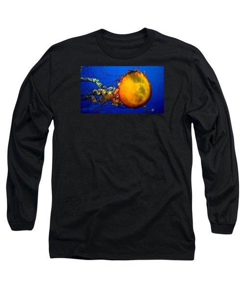 Jellyfish Long Sleeve T-Shirt by David Gilbert