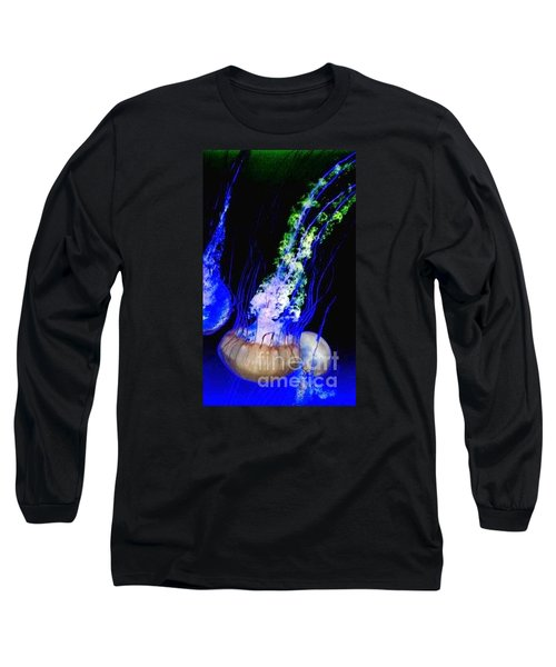 Long Sleeve T-Shirt featuring the photograph Jellypower by Vanessa Palomino