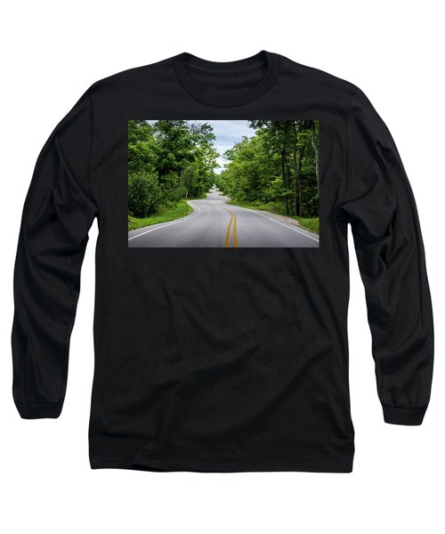 Jens Jensen's Winding Road Long Sleeve T-Shirt