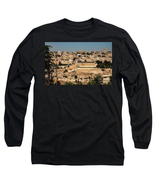 Long Sleeve T-Shirt featuring the photograph Jerusalem by Mae Wertz