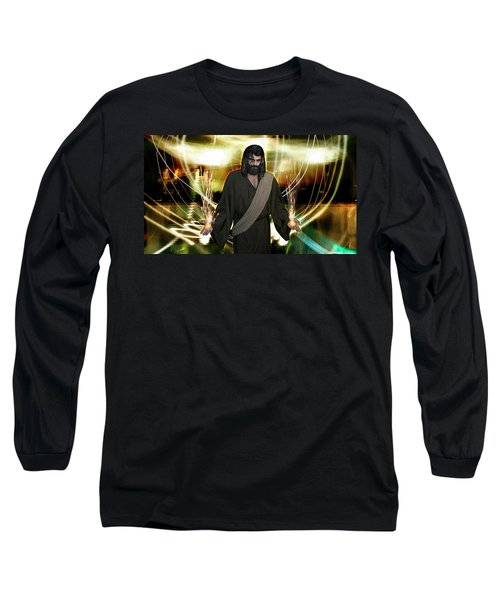 Jesus Christ- God Shines In Glorious Radiance Long Sleeve T-Shirt