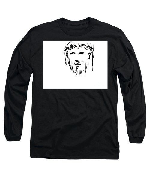 Jesus Christ Head Long Sleeve T-Shirt