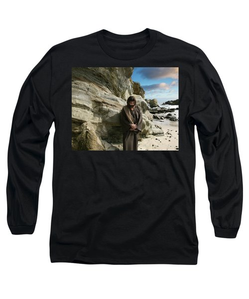 Jesus Christ- I Have Heard Your Prayer And Seen Your Tears I Will Heal You Long Sleeve T-Shirt