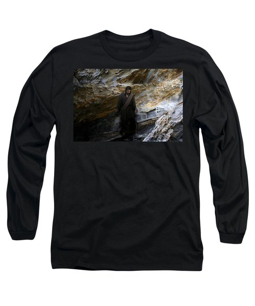 Jesus Christ- The Lord Is My Light And My Salvation Long Sleeve T-Shirt