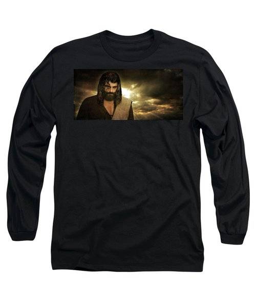 Jesus Christ- Will You Hear Me Shout Come Up Long Sleeve T-Shirt