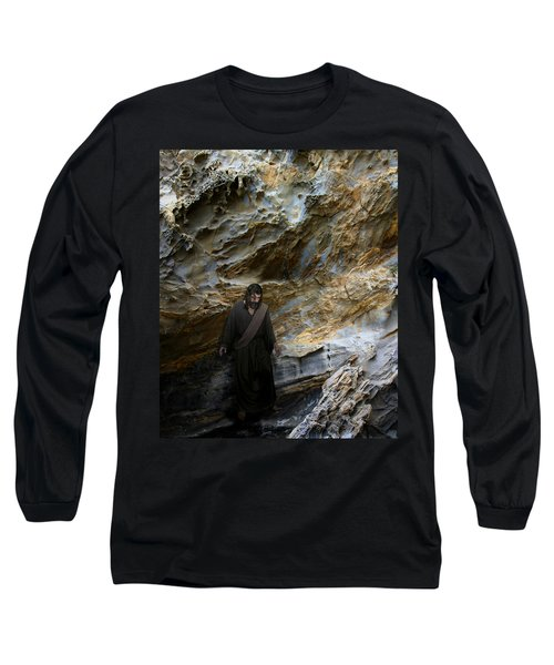 Jesus Christ- You Are My Hiding Place And My Shield Long Sleeve T-Shirt