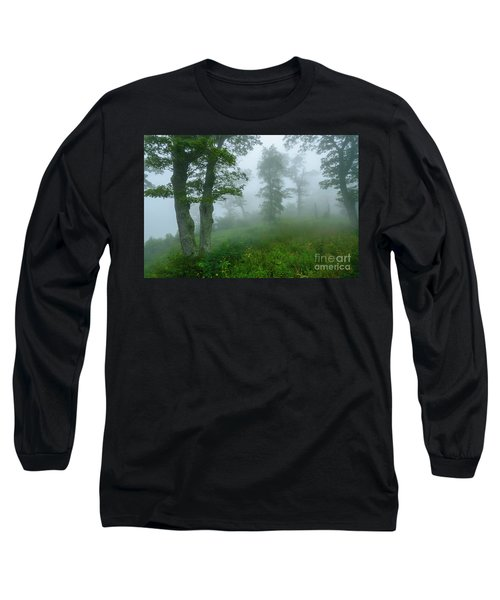 Long Sleeve T-Shirt featuring the photograph Jewell Hollow Overlook by Thomas R Fletcher