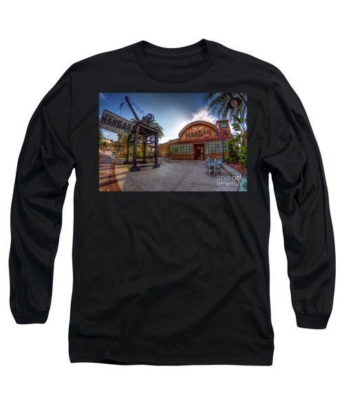 Jock Lindsey's Hangar Bar Long Sleeve T-Shirt