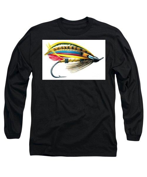 Jock Scott Fly Long Sleeve T-Shirt by JQ Licensing Jon Q Wright