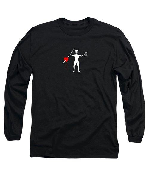 John Quelch Pirate Flag Tee Long Sleeve T-Shirt