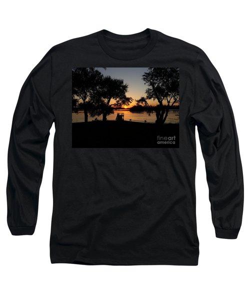 Long Sleeve T-Shirt featuring the photograph Johns Island Sunset by Robert Knight