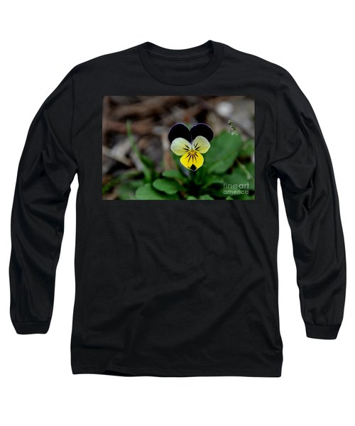 Jonny Jump Up - Relative To A Pansy Long Sleeve T-Shirt