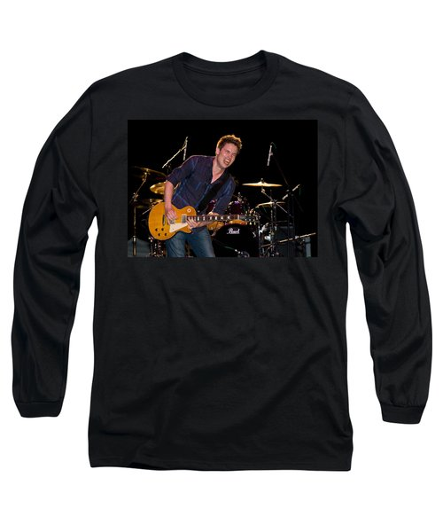 Jonny Lang Rocks His 1958 Les Paul Gibson Guitar Long Sleeve T-Shirt