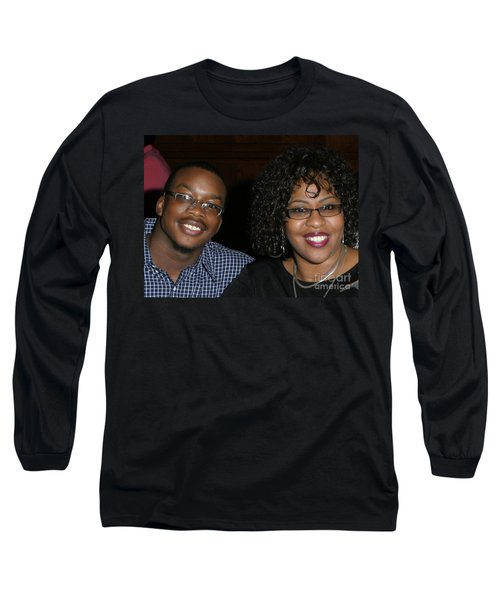 Josh And His Mom Long Sleeve T-Shirt