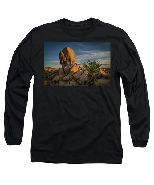 Joshua Tree Rock Formation Long Sleeve T-Shirt