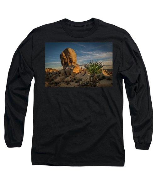 Joshua Tree Rock Formation Long Sleeve T-Shirt