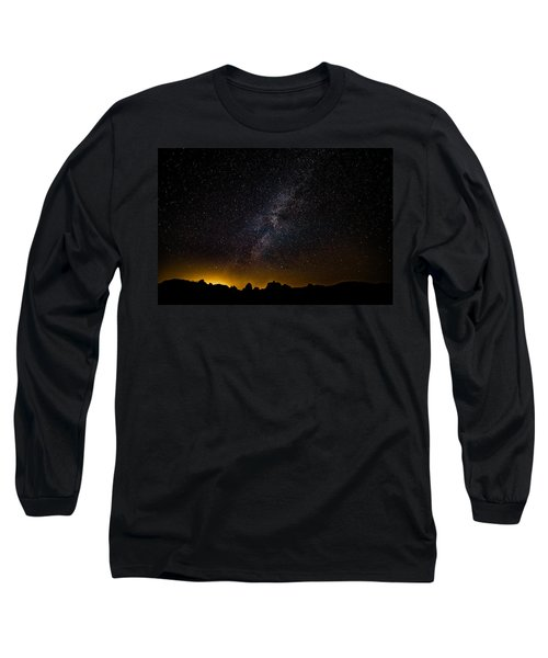 Joshua Tree's Fiery Sky Long Sleeve T-Shirt