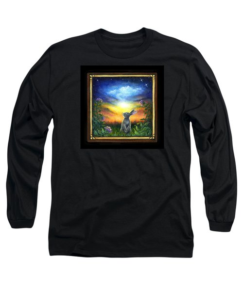 Joy Comes In The Morning Long Sleeve T-Shirt by Retta Stephenson