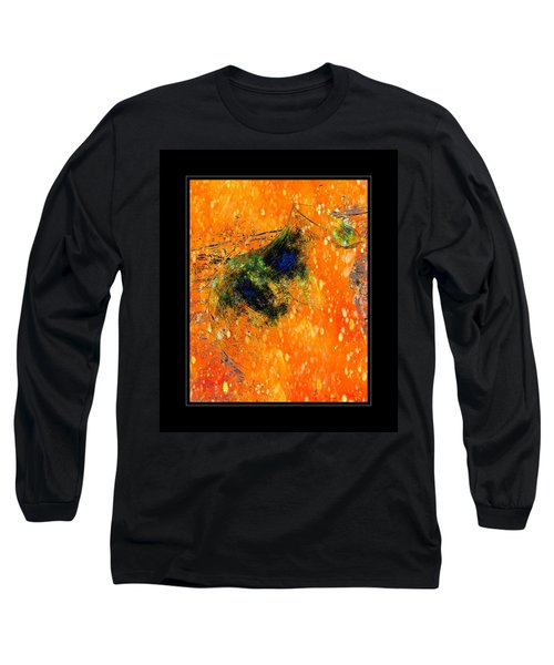 Jug In Black And Orange Long Sleeve T-Shirt