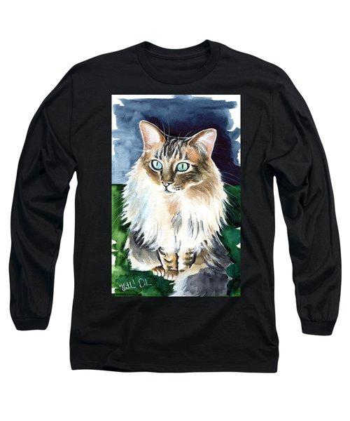 Juju - Cashmere Bengal Cat Painting Long Sleeve T-Shirt